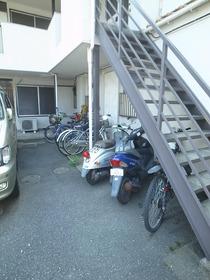 自転車&バイクスペース!