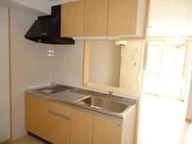 2口IHコンロ設置済み対面キッチン