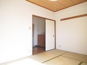 照明付きの和室6帖☆窓側からのアングルです!