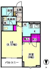 ラ・フォルテ多摩川 202号室