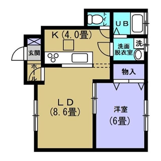 LDK12.6 洋室6