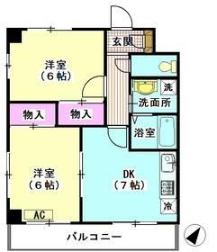 シャトレー手塚 406号室