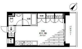 アーバンビュー上野毛3階Fの間取り画像
