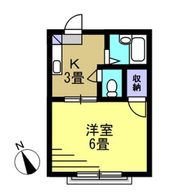 K3帖・洋室6帖