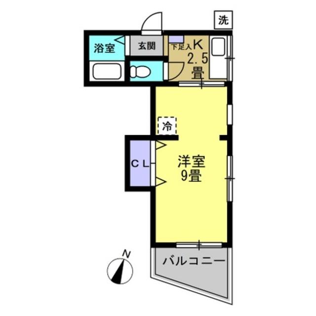 K2.5帖 洋室9帖