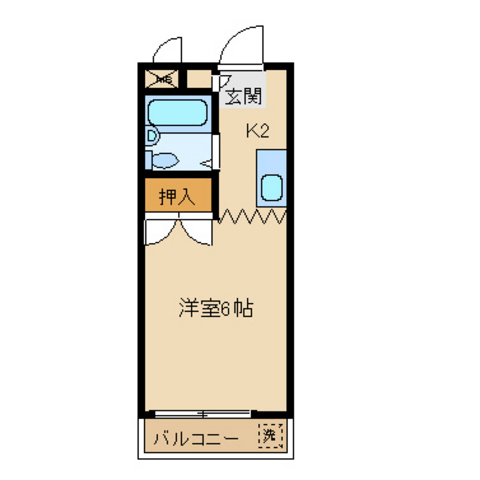 洋室6 K2
