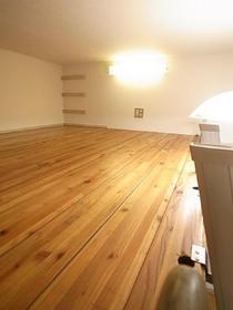 ロフトの木目もかわいい、ワタシのお部屋。