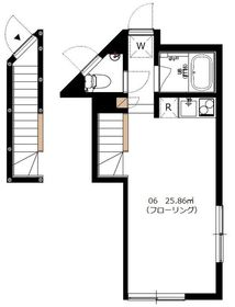 Orbit Komazawa2階Fの間取り画像