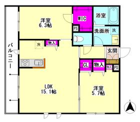 仮)大田区萩中3丁目シャーメゾン 202号室