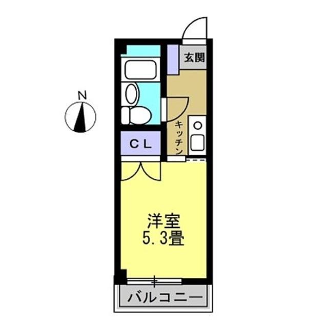 K・洋室5.3帖