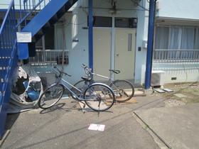 お部屋前に自転車を置けそうですね☆