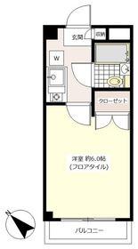 ジュア用賀2階Fの間取り画像