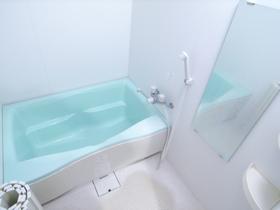 浴室1Kなのにユッタリしています!