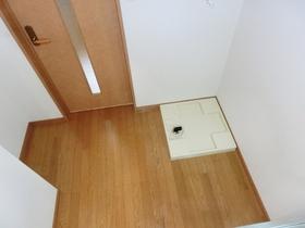 洗濯機置場、冷蔵庫、食器棚スペース!!