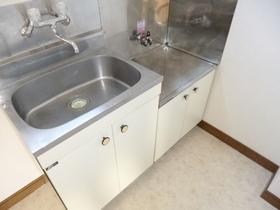 キッチンは二口ガスコンロ設置可です