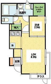 ローズガーデンプレイス 102号室