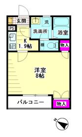 シエール羽田参番館 101号室