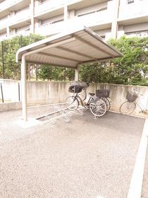自転車はここへ!
