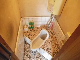 共同トイレです。