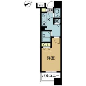 スカイコート八王子第57階Fの間取り画像