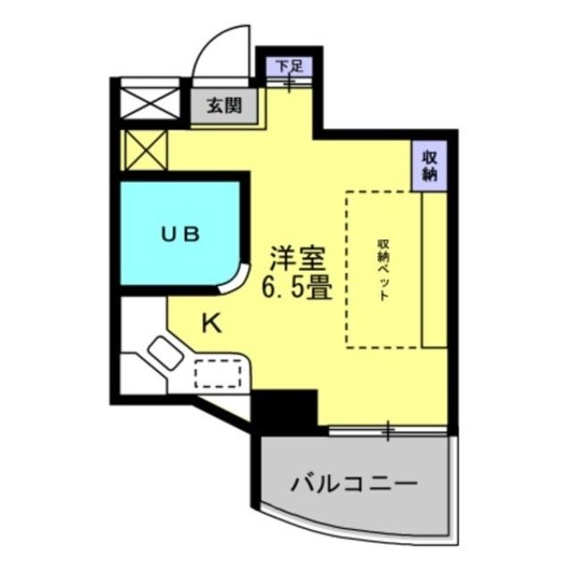 洋室6.5帖
