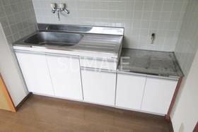 2口ガスコンロ設置かキッチン。
