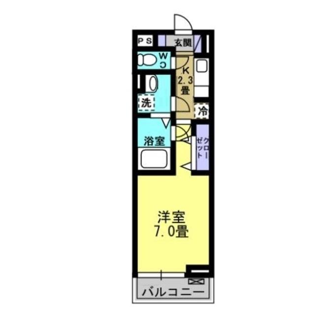 K2.3帖・洋室7帖
