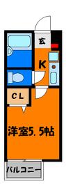 バス・トイレ別!定番の1K