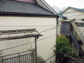 2階からの眺めです
