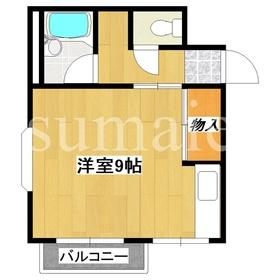 角部屋★最上階の洋室です!!