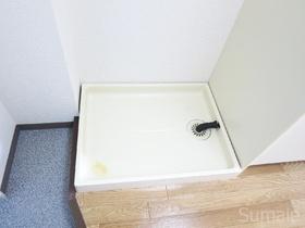 室内洗濯置き場です!