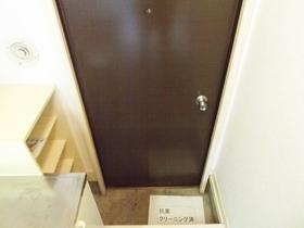 玄関はこのようになっております♪