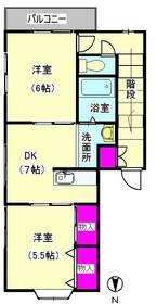 西六郷1363 201号室