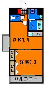 人気の1DKマンション!角部屋ですよ!