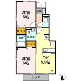 アパート/愛媛県松山市今在家2丁目4ー34 Image