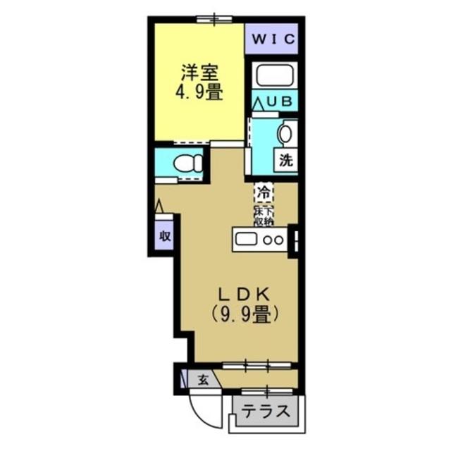 LDK9.9帖 洋室4.9帖