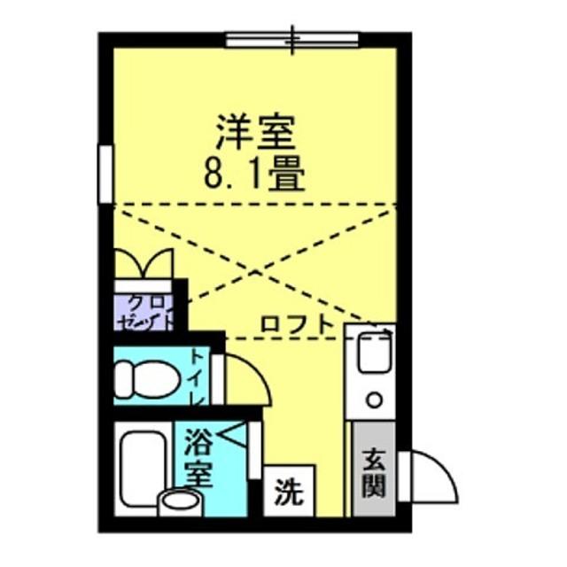 洋8.1帖 ロフト