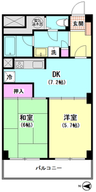 メガロン大井町 411号室