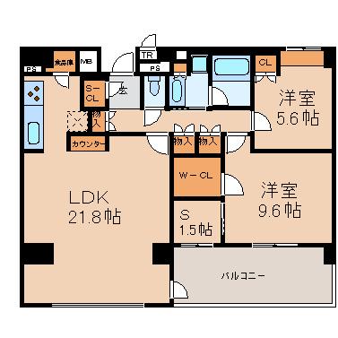 LDK21.8 洋9.6 洋5.6