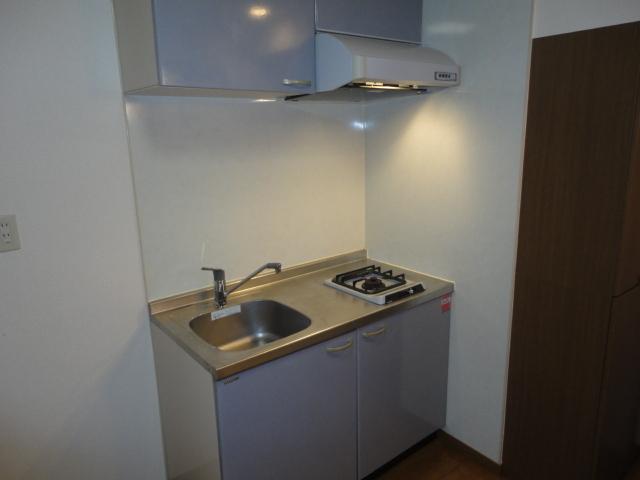 ガスコンロ設置済みのキッチン!