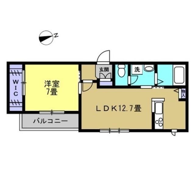 LDK12.7帖・洋室7帖
