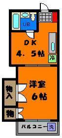 人気の津田沼1DKアパート!!稀少ですよ