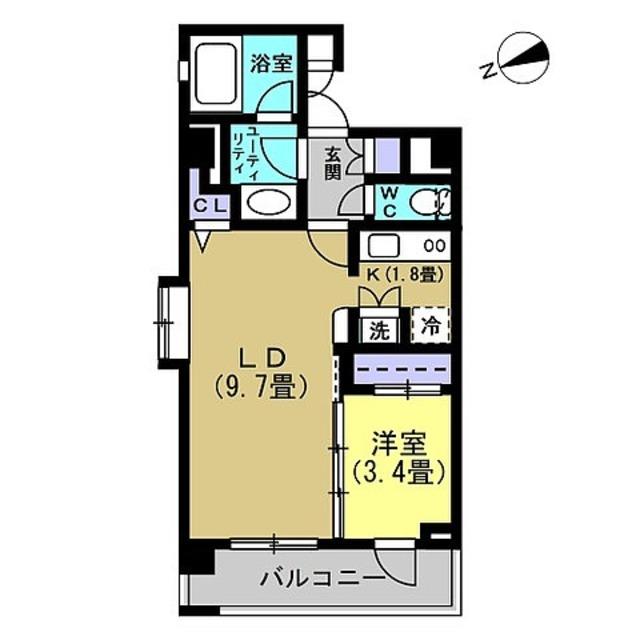 LDK11.5帖、洋室3.4帖
