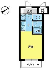 スカイコート荻窪第53階Fの間取り画像