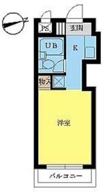 スカイコート西川口4階Fの間取り画像