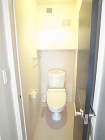 収納つきのおトイレ☆