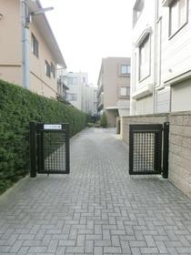 敷地内への入口