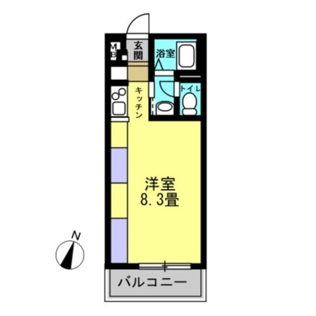 洋室8.3帖