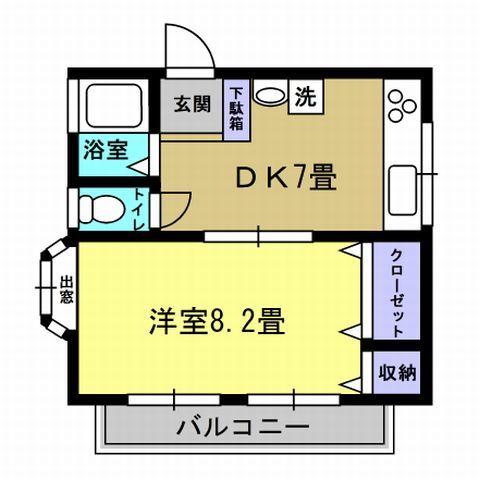 DK7帖、洋室8.2帖