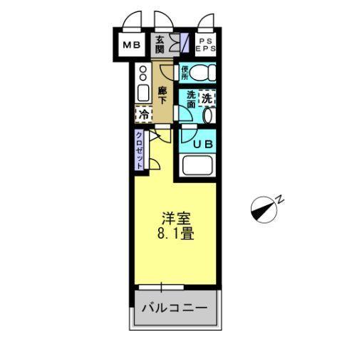 K3.5帖 洋室8.1帖